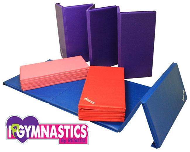 Gymnastics Mats Pink Tumbling Mats