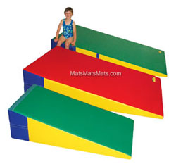 Gymnastic Incline Mats / Gymnastic Wedge Mat / Cheese Mats in Large Sizes