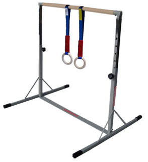 Gymnastics Rings Ideal for OurMini High Bar