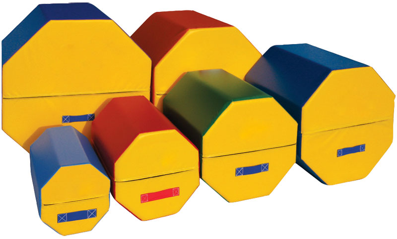 Kids Gymnastics Equipment Octagon Tumblers