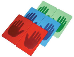 Hands and Feet Vinyl Pads