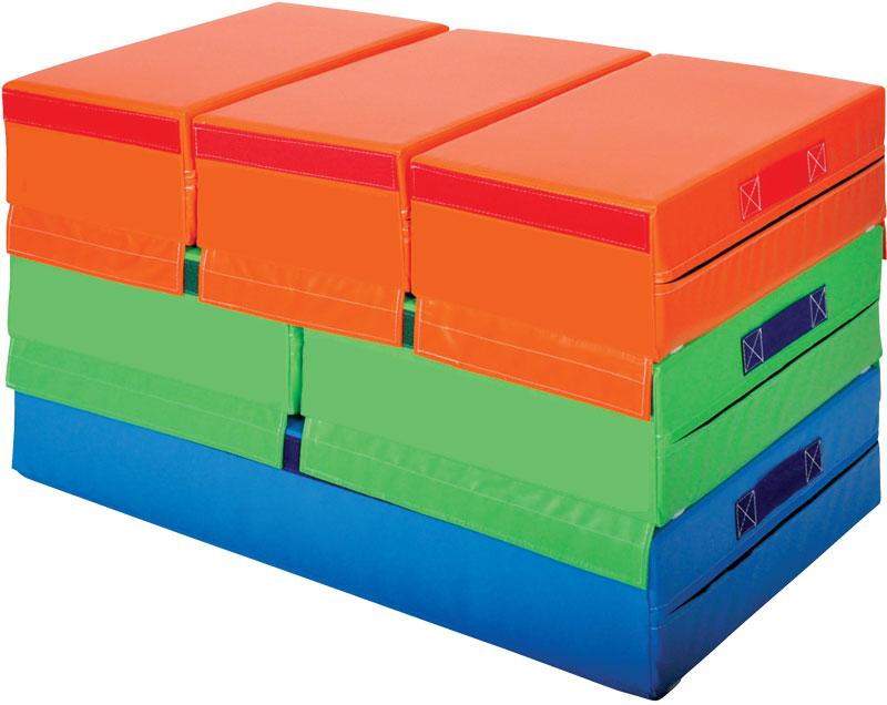 Sectional Block Set For Gymnastics