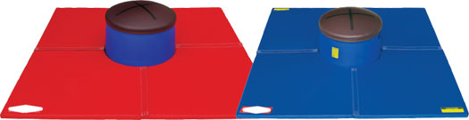 Ultra Dome Pommel Horse and Ultra Dome Mat
