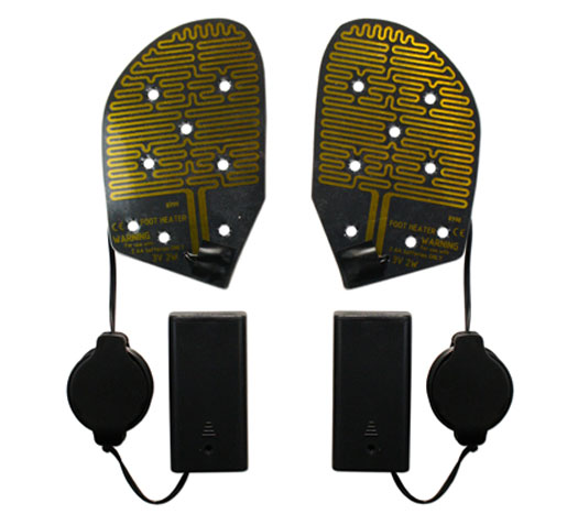 Battery Heated Shoe Insoles - Foot Warmers