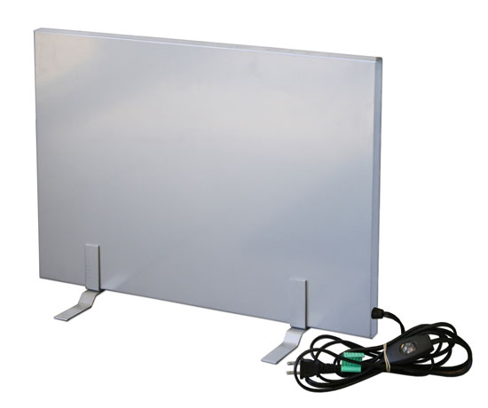 Flat Panel Radiant Heater Warms Your Entire Body - Safer Than ...
