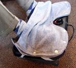 Heated Footrest Fleece Foot Cover