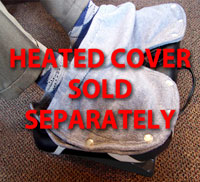 Heated Footrest Fleece Foot Cover