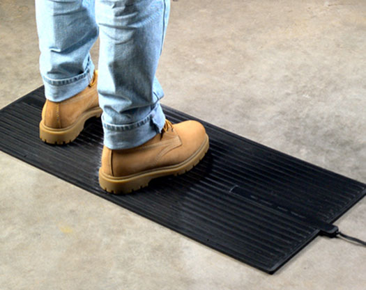 Foot Warmer Mat For Standing Or Under Desk Use