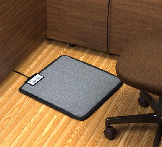 Office chair mat for carpet - Foot Warmer Mat For Under Your Desk