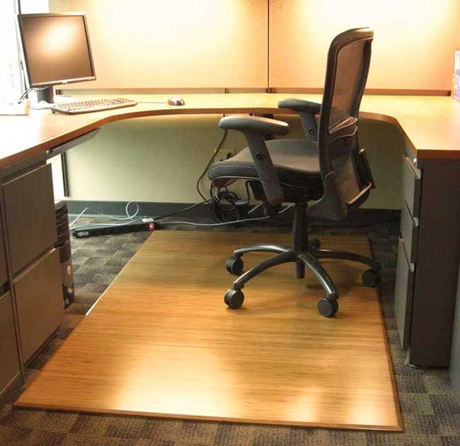 Hardwood Floor Office Chair Mat Pictures