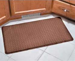 Gel Mats: ComfortChef Cushioned Kitchen Mats have Gel Mat Feel At Half The Cost