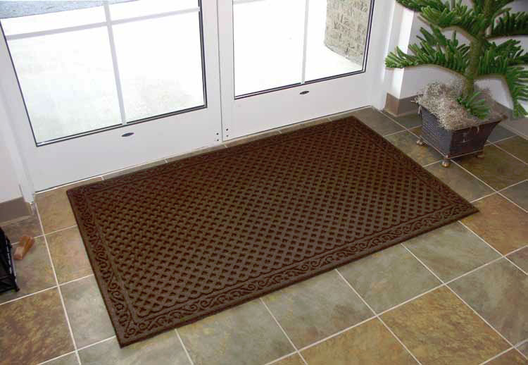 Durable elite entry door mats with carpet surface and ...