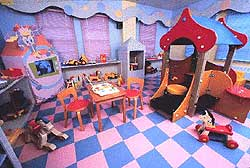 Kids Play Room Floor