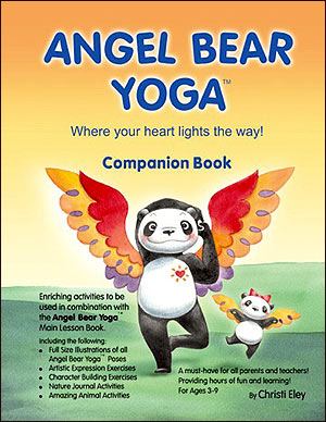 Angel Bear Yoga Activity Book For Kids