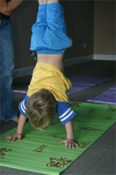 Lavender Kids Yoga Mat With Design