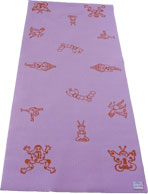Lavender Kids Yoga Mat With Design