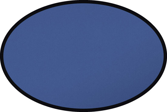 solid blue oval rug our solid blue oval rug is