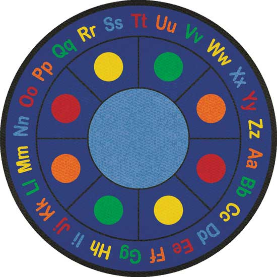 Round Classroom Carpets And Rugs For Kids