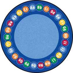 Large Classroom Rugs: Rotary ABC Carpet