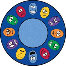 Round Carpets: Expressions School Rugs