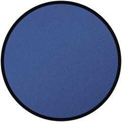 round blue rug