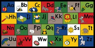 ABC Rugs, ABC Mats, ABC Carpet: Learn the ABC's