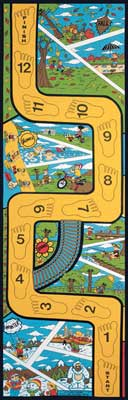 Seasons Rug, Educational Rugs, Kids Play Mats: Let's Learn To Balance