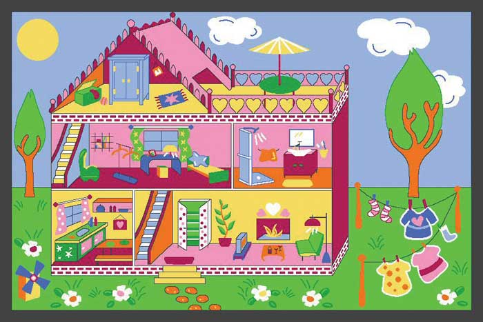 Game rugs play carpets for kids for My dream house drawing