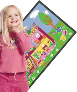 Game Rugs: Carpeted Play Mats and Play Carpets Provide Hours of Fun