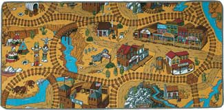 Play Carpets For Kids - Wild West