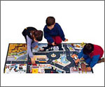 Carpeted Kids Play Mats With Various Themes