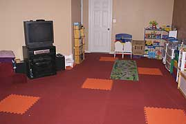 Children's Playroom Floor