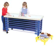 Stackable Daycare Cot Carriers