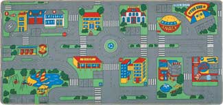 City Streets Rug - Carpet Playmat