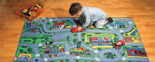 Construction Play Carpet, Transportation Play Rug, Airport Playmat, Airplane Play Mat, Train Play Mats & More.