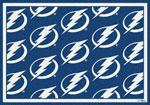 Tampa Bay Lightning Sports Rug
