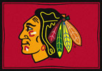 Chicago Blackhawks Sports Rug