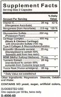 Pet Vitamins - Supplement Facts