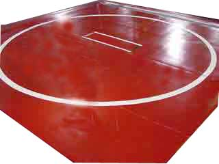 Professional Wrestling Mats For Use At Home