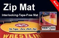 Wrestling Zip Mats For Sale