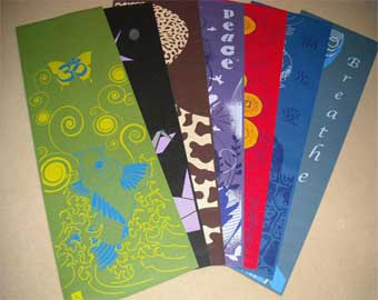 Yoga  Strap on Yoga Mats With Designs   The Bolder Mat Company