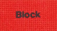 Custom Yoga Mats With Block Font