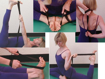 Yoga Strap with End Loops